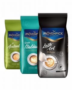 MÖVENPICK Best Selection Set zum Testen 3 x 1000g