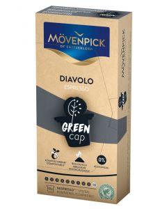 MÖVENPICK ESPRESSO DIAVOLO Kaffeekapseln GREEN CAP